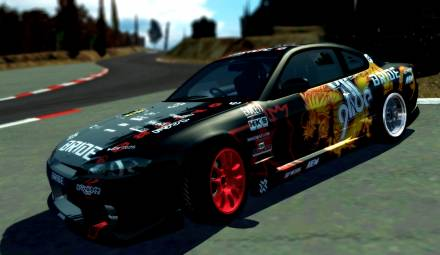 Paint Job for Nissan Silvia s15 ApexGlide
