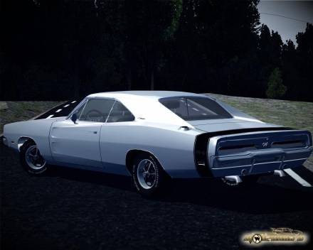 Dodge Charger RT With Black Strip 1969