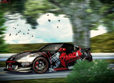 Paint Job for Nissan Fairlady Z34 Paint Job for Ni