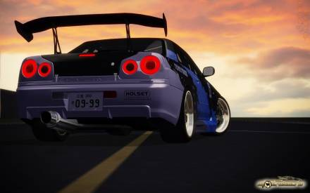 Paint Job Tomei for Nissan Skyline R34