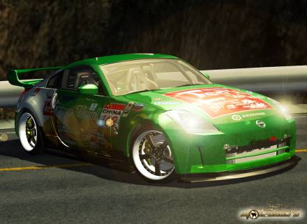 Paint Job For Nissan 350Z