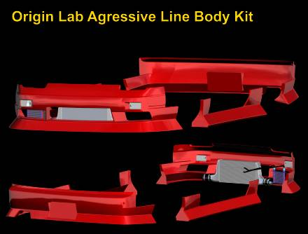 Origin Lab Agressive Line Body Kit