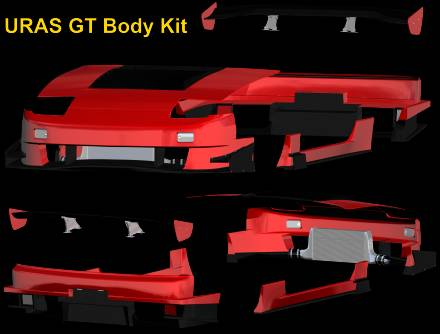 URAS GT Body Kit