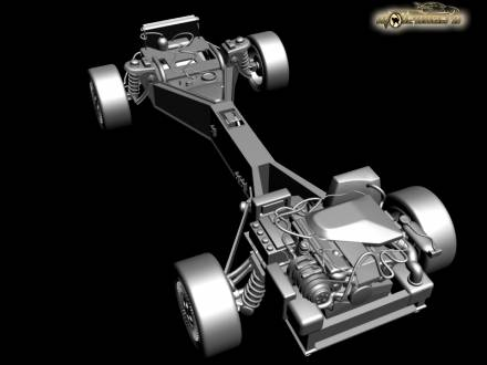 DMC-12 chassis and frame